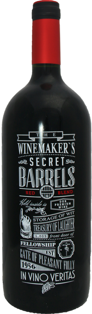 Rótulo The Winemaker's Secret Barrels Red Blend