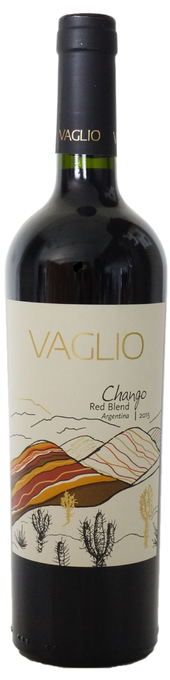 Rótulo Vaglio Chango Red Blend