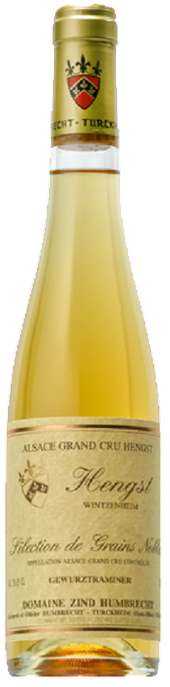 Rótulo Zind-Humbrecht Hengst Grand Cru Selection De Grains Nobles Gewütztraminer